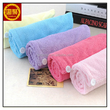 women / lady / girl microfiber hair towel