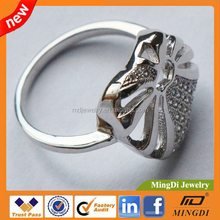 2015 Promotional Custom Wholesale Jewelry Platinum Price Sets Cheap Wedding Ring