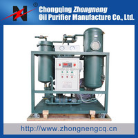 Vacuum Turbine Oil Purifier/lubrication oil filtration/Hydraulic oil filtering Series TY