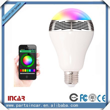 original factory price wireless mini bluetooth speaker with led light for smart phone