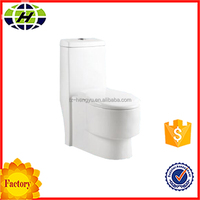 ceramic bathroom siphonic one-piece toilet
