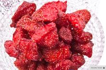 sweet cherries - preserved strawberry