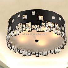 Modern fancy hotel home family deco led drum ceiling lights