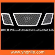 Factory price for Nissan grille Stainless Steel front Grille for Pathfinder 05-07