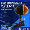 """Y&T YTT01 DOT Approved 4"""" Round Truck Arrow LED Light -Tail Stop Indicator Light"""