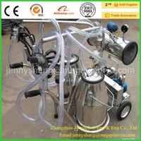 Hand Easy Operated Vacuum Pump Milking Machine