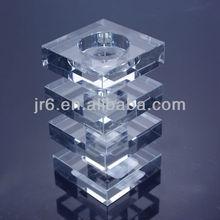 a buon mercato trasparente moltiplicare torre a forma di mosaico porta candele votive