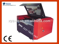 XJ6090 laser engraving and cutting machine science working models