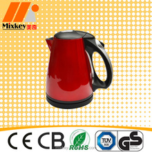 2015 Red 1.7L Stainless Steel Kettle Large capacity Good Looking Kettle National Electrical Appliancees
