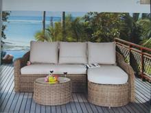 2015 états-unis la moitié Table ronde avec Table basse en plein air meubles de Patio