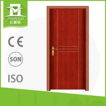 2015 China new products pvc interior intensify wood door with good quality