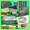 0.012mm--0.2mm full size disposable aluminium foil food containers