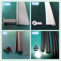 Rohs silicone sealing strip /silicone rubber strips roll