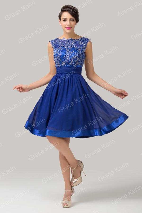 Cheap Evening Dresses Knee Length 48