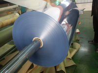 calendered cheap price clear rigid plastic PVC film roll