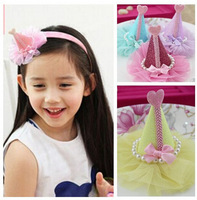 hair barrettes for little girls hair beauty set handmade hairpin bride hair pins lace cube crown hairpins