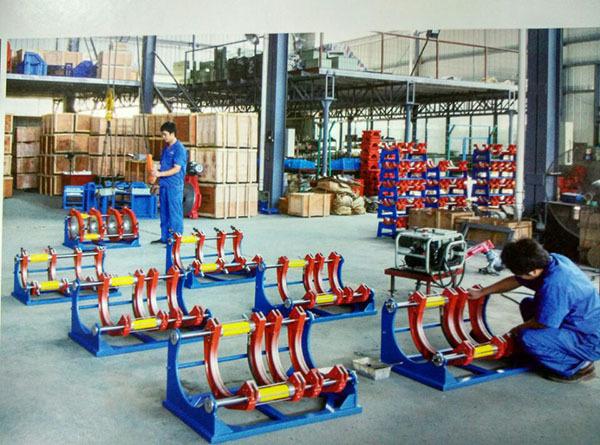 Hongli en plastique tuyau hydraulique Butt soudage par Fusion Machine ( 90 mm - 250 mm )