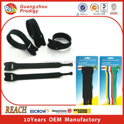 eco-friendly self adhesive plants velcro cable tie