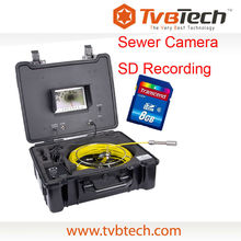 TVBTECH 30/40m Cable Drain Sewer Pipe Inspection Camera,Underwater Video Inspection,CCTV Camera Model No. 3199F