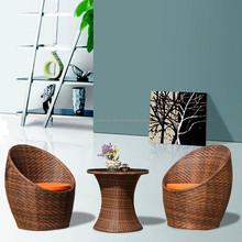 Rattan coffee chairs and tables,patio furniture