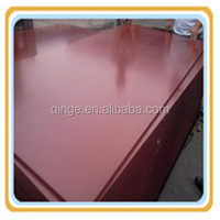 1220*2440*15mm phenolic glue red film pine film faced plywood