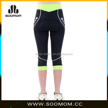 2015 New Arrivel Color Women Compression cycling shorts