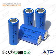 Alibaba wholesale cheap rechargeable lifepo4 18500 battery / 18500 3.2v lifepo4 battery / 3.2v 900mah 18500 li-ion battery