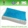 Comfortable soft Elastic Environmental Ergonomic cool cooling PU gel memory foam natural latex pillow