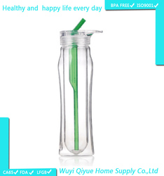 Sports Good Quality water bottle joyshaker carrier unbreakable glass water bottle joyshaker bottle