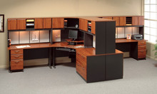modular office workstation in classic design 2212