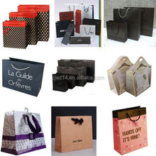 2015 fashion takeaway paper bags/ leather wine bag carrier/ bag in box for wine