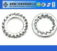 Stainless Steel 304 External Toothed Lock Washer DIN6797 DIN6798
