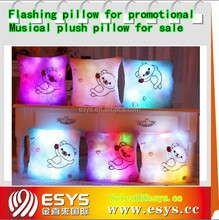 Electric i love you light up pillow with flashing module
