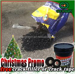 Christmas Promo Go Green asphalt cold mix /asphalt patch material/