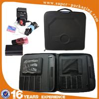 Custom packaging universal zipper portable EVA carry electrical tool kit bag for storage