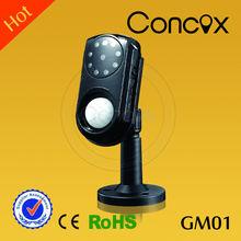 GSM alarma con detector de movimiento GM01/camaras digitales con MMS y mensajes de llamada automática