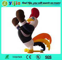 Custom made advertising products giant inflatable rooster