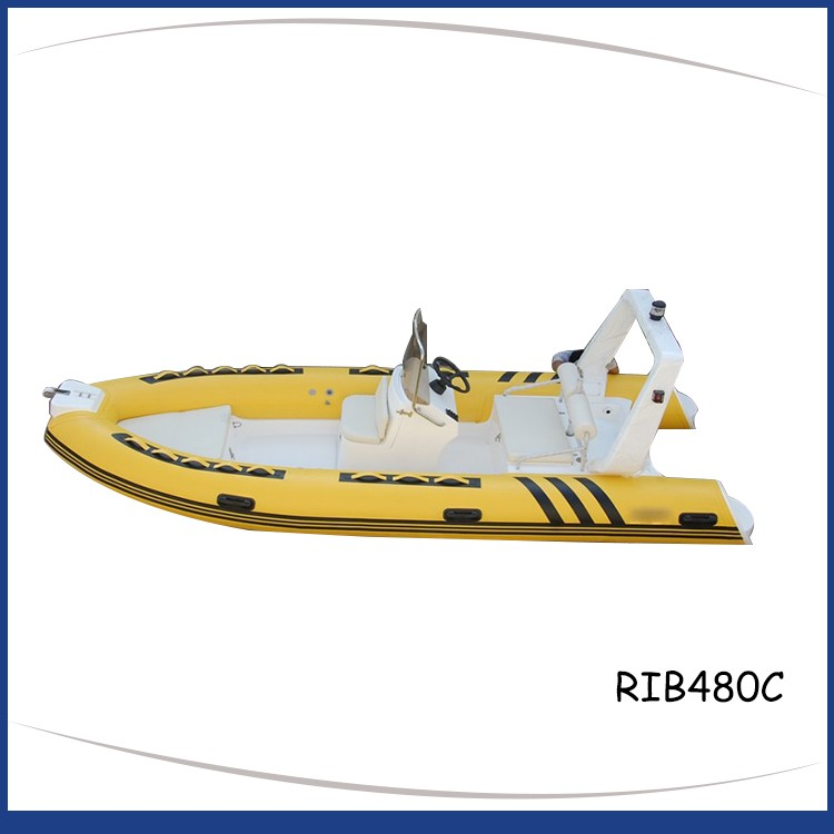 4.8M RIGID INFLATABLE BOAT RIB480C-5