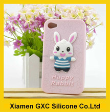 funny happy rabbit silicone for samsung galaxy s3 case