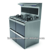 Kitchen upright cooker,cooking range,range cooker design