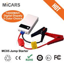 Car battery MC05 rechargeable battery pack 12v lithium car jump starter