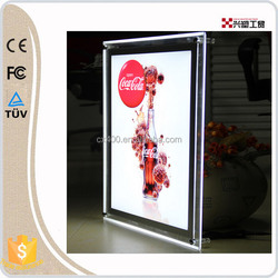high quality wholesale acrylic crystal led light box