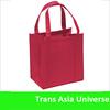Hot Custom Cheap custom non woven laminated shopping bag with zipper