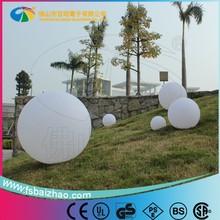 Waterproof garden plastic ball lamp/led night light/solar led garden light
