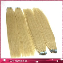 factory price brazilian human hair silicone tape for hair