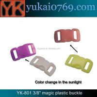 Yukai side release handbag buckle/plastic dog collar buckle/luggage accessories buckle