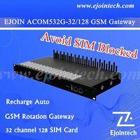 2015 Ejoin multi huge sim gsm 32 port gateway 32 port voip gateway, free unlimited voip calls of gsm unlock box