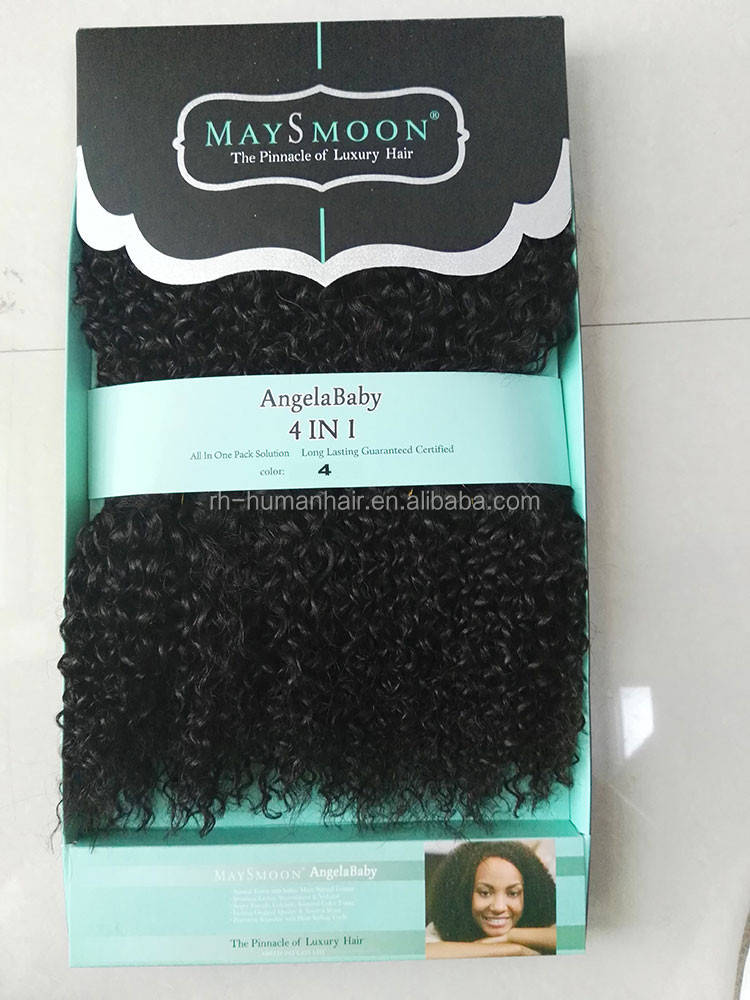Wholesale New Fashion Animal Hair Synthetic Bebe Curl Hair
