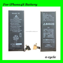 Internal Battery for iPhone 4S Battery Professional for iPhone Battery Manufacturer Wholesale,On Stock Fast Shipping in 24hours