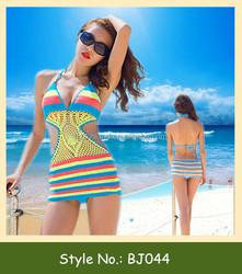 2015 new high quality fashion beach mature women bikini photos
